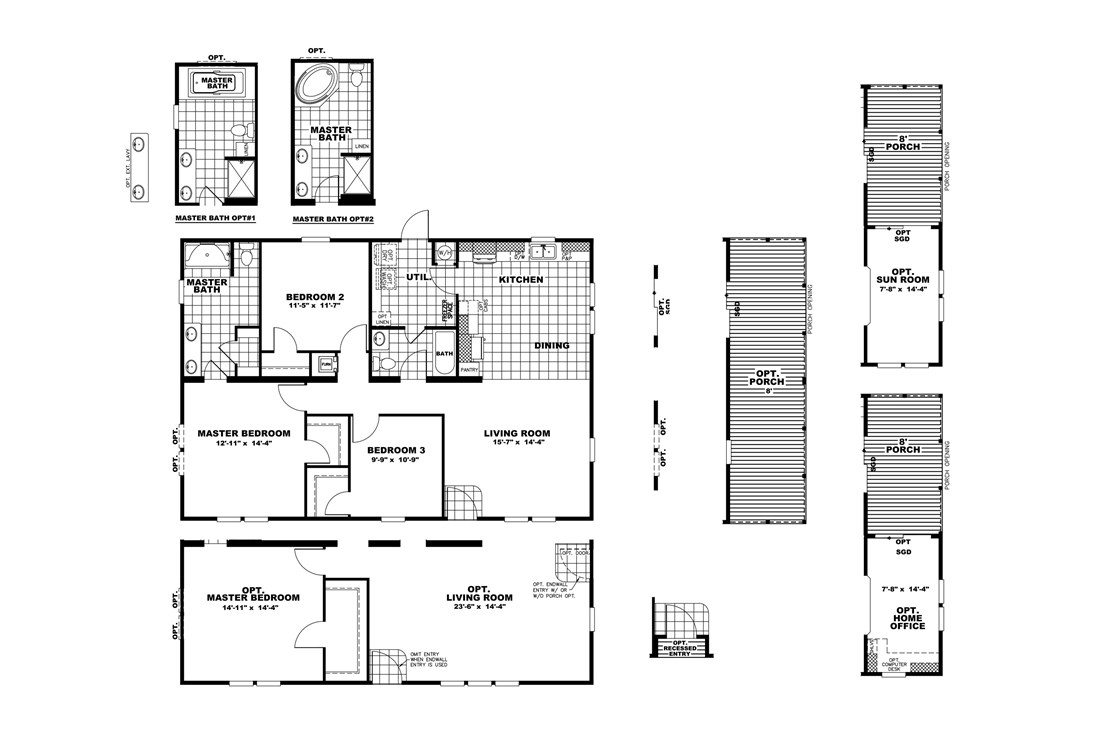 The THE HOGAN 32 Floor Plan